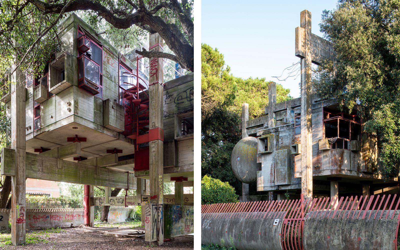 Casa Dolce Casa Roma casa sperimentale - iconic houses