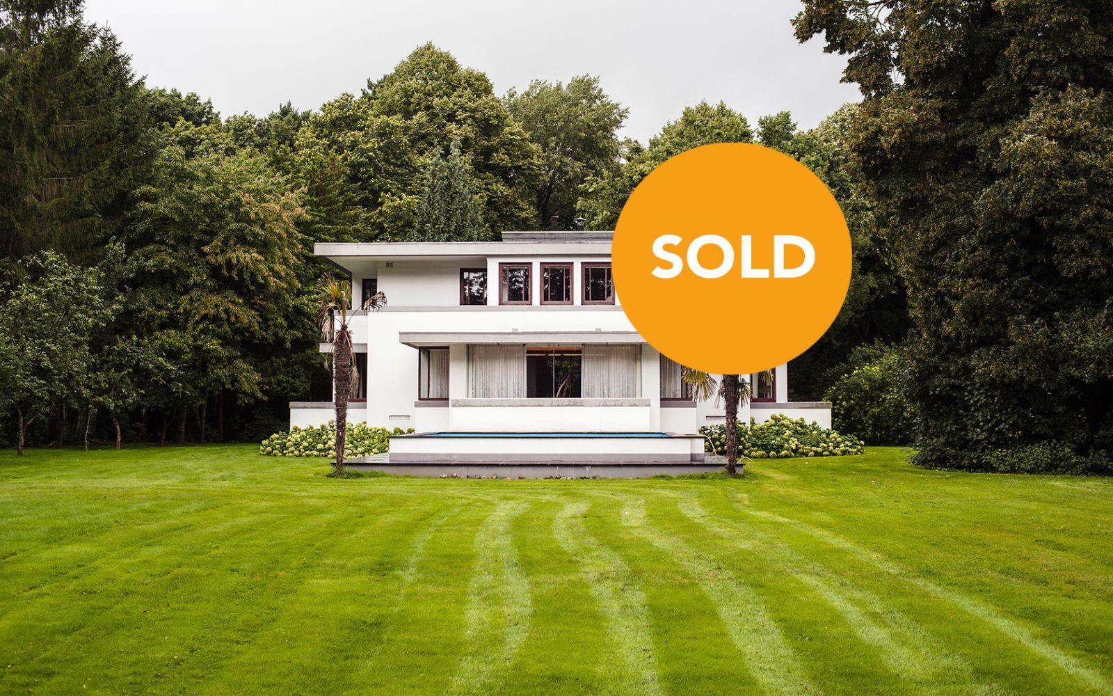 Style De Veranda Moderne villa henny, geometric style icon in the netherlands
