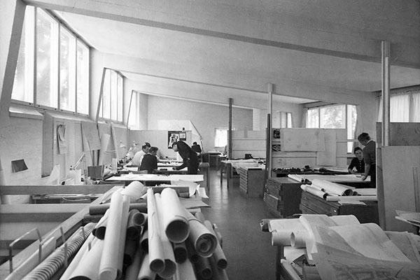 studio aalto in the 1950s havas alvar aalto museum