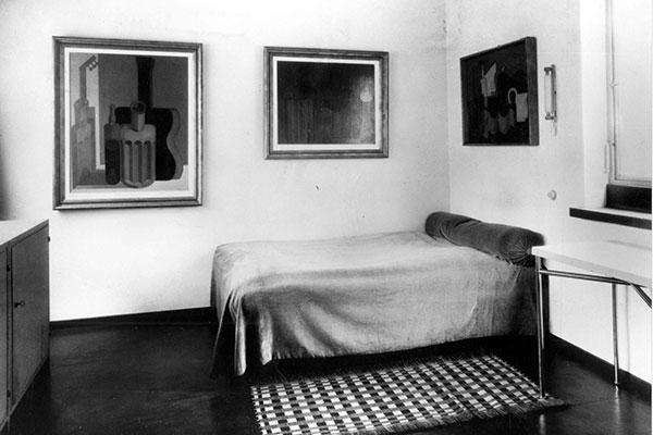 La Rocheu0027s Bedroom, (u0027the Purist Bedroomu0027), Photo Fred Boissonnas  ©FLC/ADAGP ...
