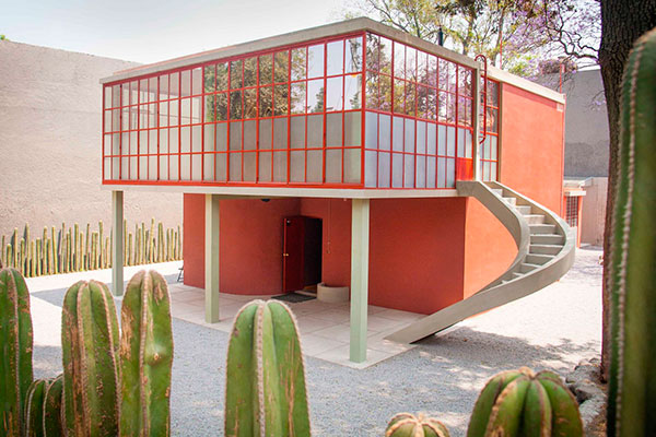 Casa Estudio Diego Rivera Frida Kahlo, 1931. Photo Hans van Heeswijk